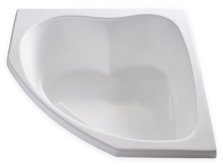 Carver Tubs - SKC5555 - Drop In Acrylic Corner Soaking Bathtub - 55 ...