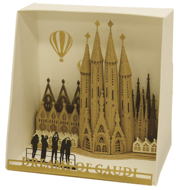 Paper Nano PN105 Sagrada Familia Building Kit