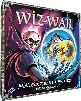 Giochi Uniti Estadounidenses Juegos - Wiz Guerra Juego de Mesa, Oscuro Maldiciones, Expansión Guerra Wiz: Amazon.es: Juguetes y juegos