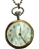 Steampunk (Non-Functioning) Watch Necklace Style Prop In Free Gift Box