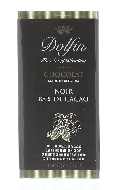 Amazon.com : DOLPHIN CHOCOLATE Extra Dark Chocolate Bar, 2.47 OZ : Grocery & Gourmet Food