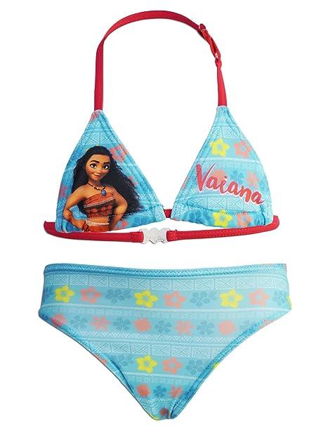 novit/à Prodotto Originale 2391RE Bambina Elena di Avalor Disney Costume 2 Pezzi Bikini con Volant Full Print Mare Piscina