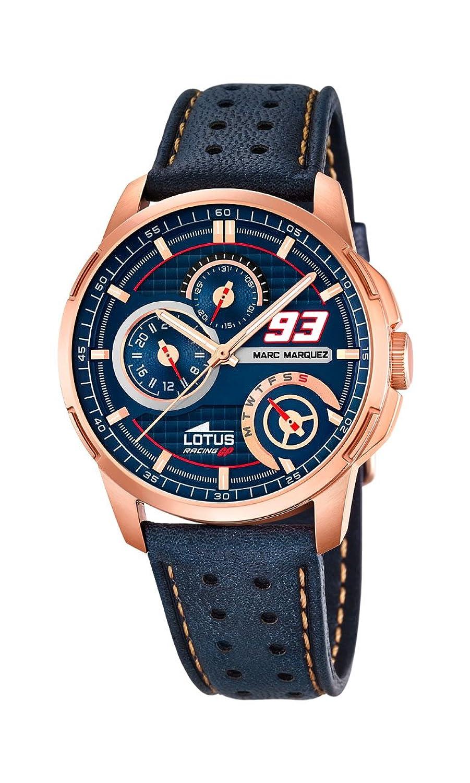 Lotus Herren-Armbanduhr Analog Quarz Leder L18242-1