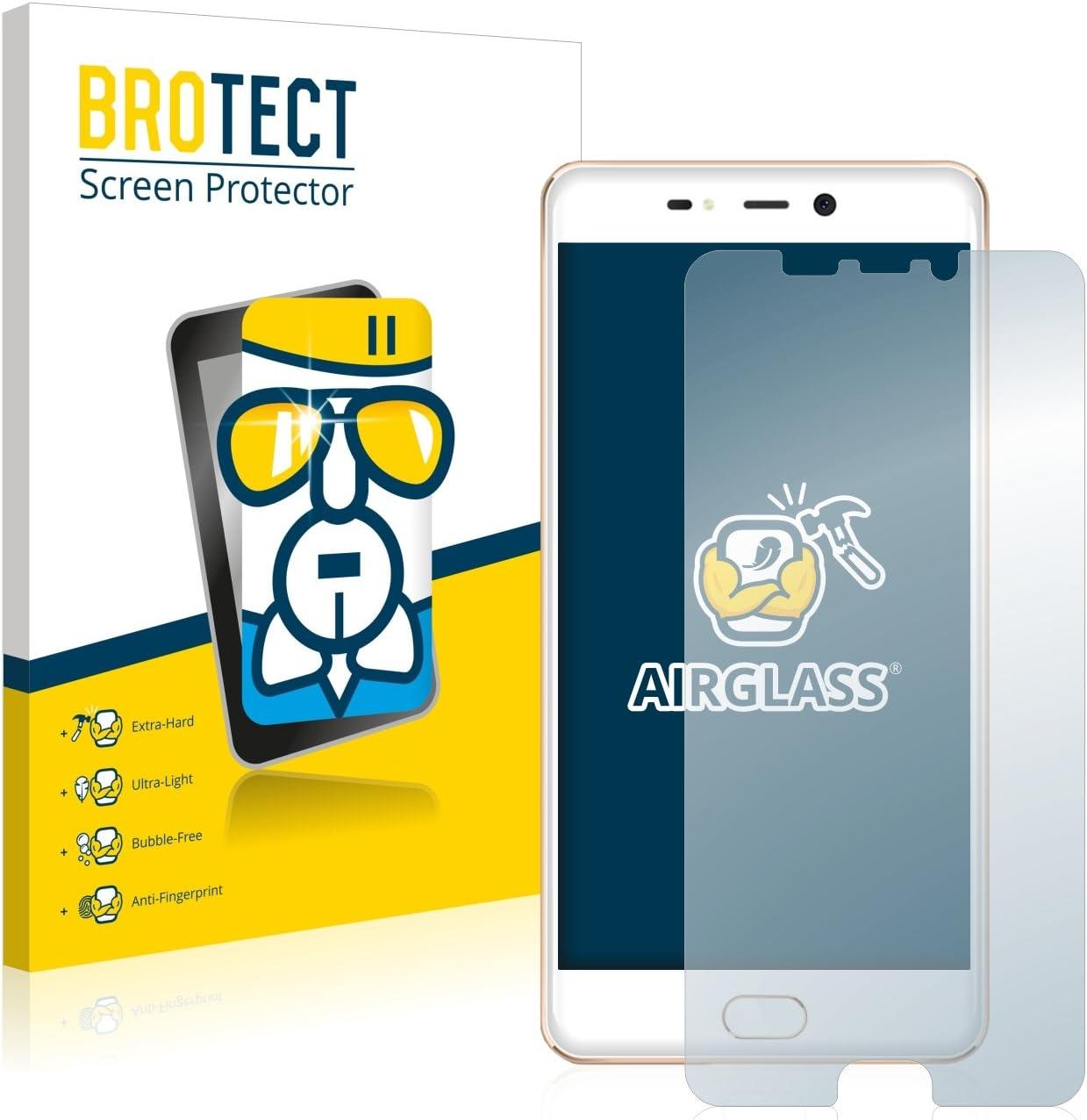 BROTECT Protector Pantalla Cristal Compatible con Leagoo T5 ...