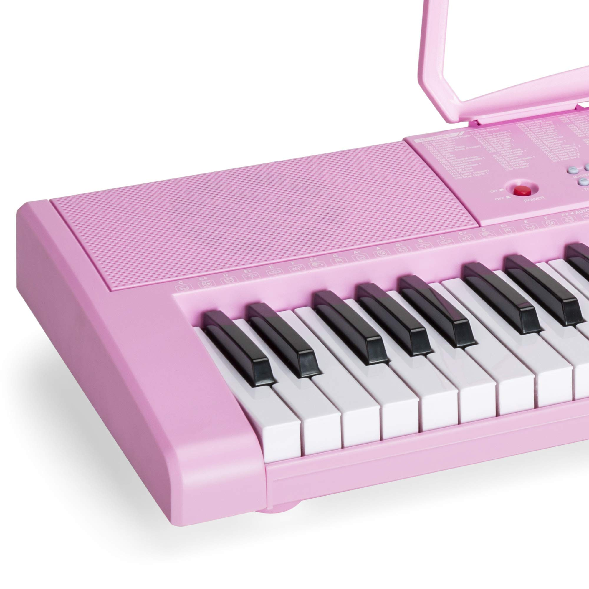 Best Choice Products 61-Key Portable Electronic Keyboard Piano with LED Screen, Record & Playback Function, Microphone, Headphone Jack (Pink) by Best Choice Products (Image #5)