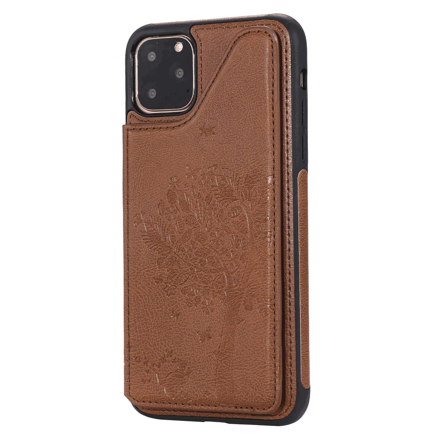 Cover for Samsung Galaxy S8 Plus Leather Extra-Shockproof Business Card Holders Cell Phone Cover Kickstand with Free Waterproof-Bag Samsung Galaxy S8 Plus Flip Case