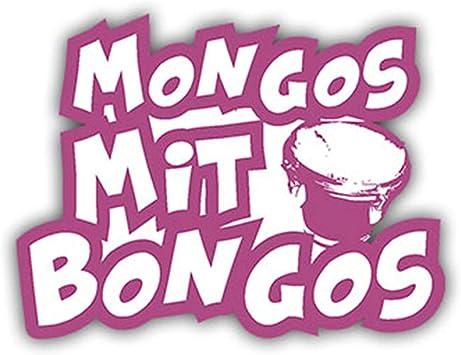 Sticker Mongos With Bongos Mongo Spacko Fun Humor Fun Tuning Racing 7x10 Cm A1056 Amazon De Auto