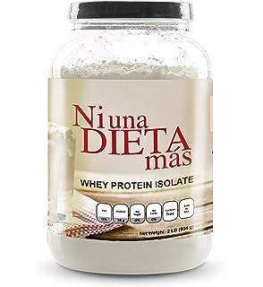 NI UNA DIETA MAS - Whey Protein Isolate (Delicious Vanilla) No Sugar, No
