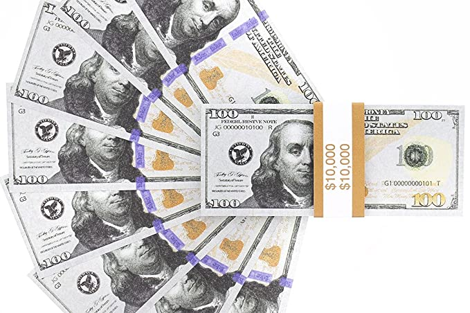 NOTE SET FROM A USA SELLER ! 5 SCIENTISTS /& INVENTORS 10-1000 DOLLAR NOVELTY