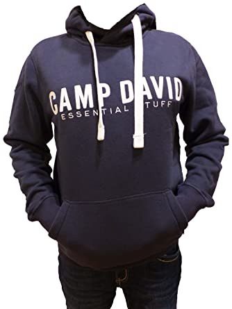 better wholesale sales sale online Camp David Sweatshirt with Hood Blue Navy ESSNTIAL Stuff ...