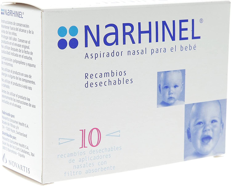 NARHINEL RECAMBIO ASPIRADOR 10: Amazon.es: Salud y cuidado personal