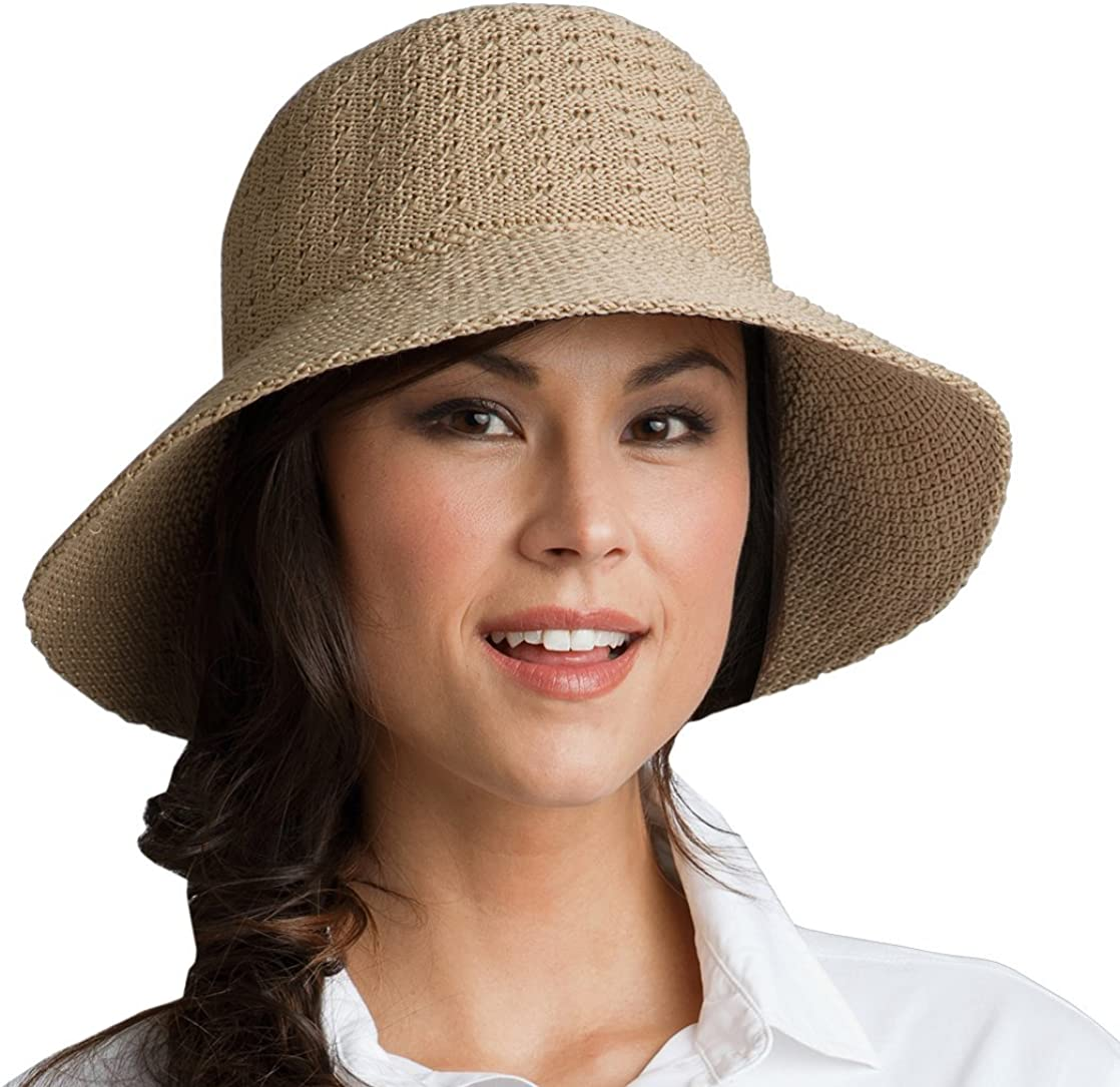 02269 Coolibar Damen Sonnenhut UV Schutzfaktor 50 Plus