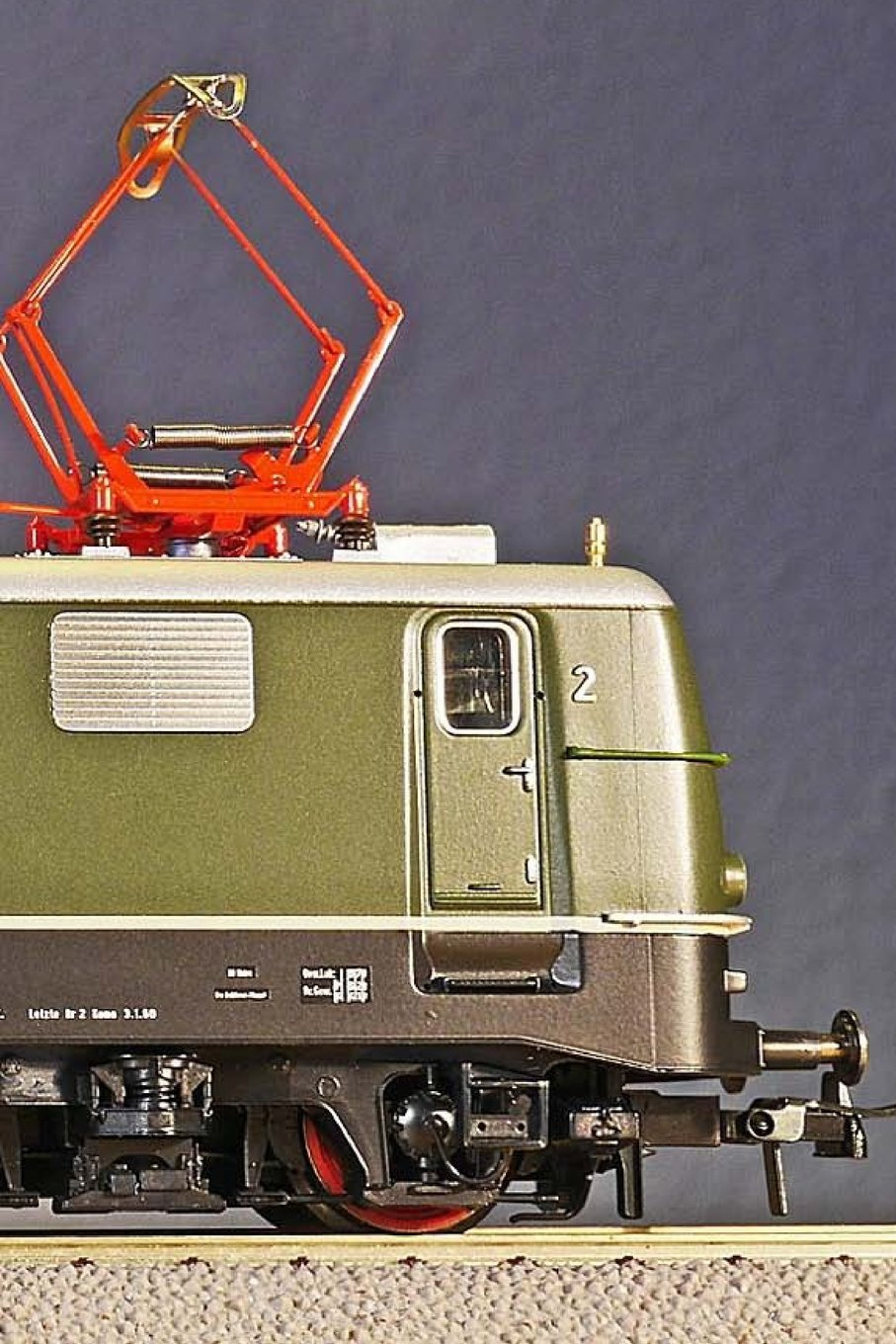 Scale HO Electric Locomotive Model Train: Notebook, 150 lined pages, softcover, 6 x 9