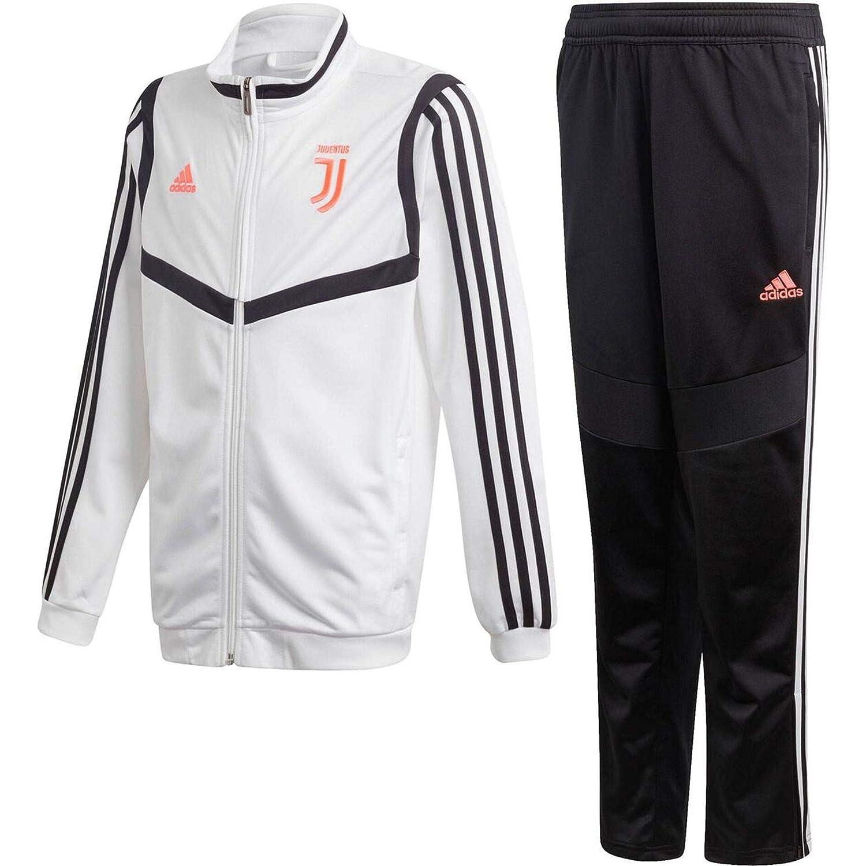 adidas Juve PES Suit Y Chándal, Unisex niños: Amazon.es: Deportes ...