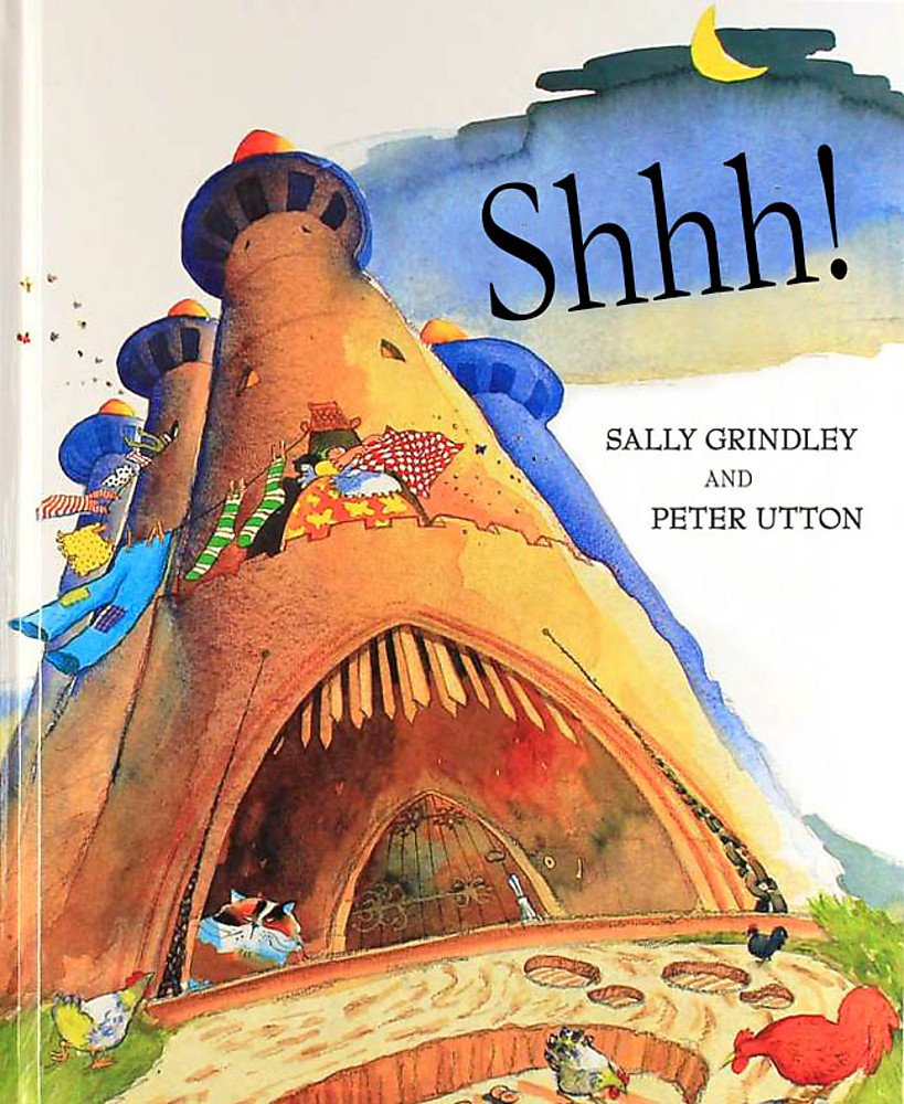 Shhh! Lift-the-Flap Book: Amazon.co.uk: Grindley, Sally, Utton, Peter:  9780340746622: Books