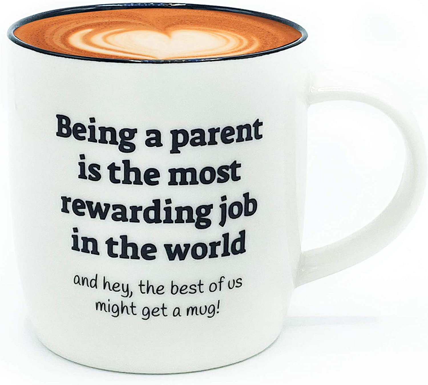 Amazon Com Triple Gifffted Parent Is The Most Rewarding Job Funny Best Ever New Mom Dad Coffee Mug Announcement Birthday Gifts Ideas From Daughter Son Gag Gift Cups Christmas Fathers Mothers Day Mugs Kitchen