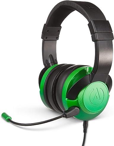 PowerA Fusion Auriculares Gaming con Micrófono Desmontable y Cable - Compatibles con PlayStation 4, Xbox (One, One X, One S, 360), Nintendo Switch, Mac, Android, IOS - Degradado Esmeralda: Amazon.es: Videojuegos