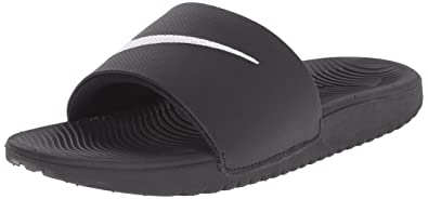 63923a40f Nike Boys   Kawa Slide (Gs Ps) Flip Flops Black  Amazon.co.uk  Shoes ...
