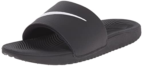 400bca9a176418 Nike Boys   Kawa Slide (Gs Ps) Flip Flops Black  Amazon.co.uk  Shoes ...