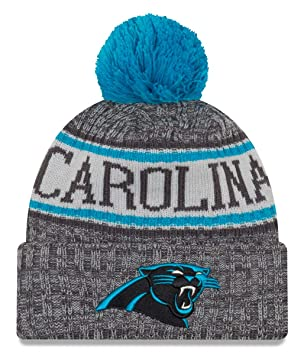 c8ef5e06ef5c6c New Era NFL Carolina Panthers 2018 Sideline Graphite Sport Knit:  Amazon.co.uk: Sports & Outdoors