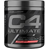 Cellucor C4 Ultimate Pre Workout Powder with Beta Alanine, Creatine Nitrate, Nitric Oxide, Citrulline Malate, and Energy Drink Mix, Cherry Limeade, 20 Servings