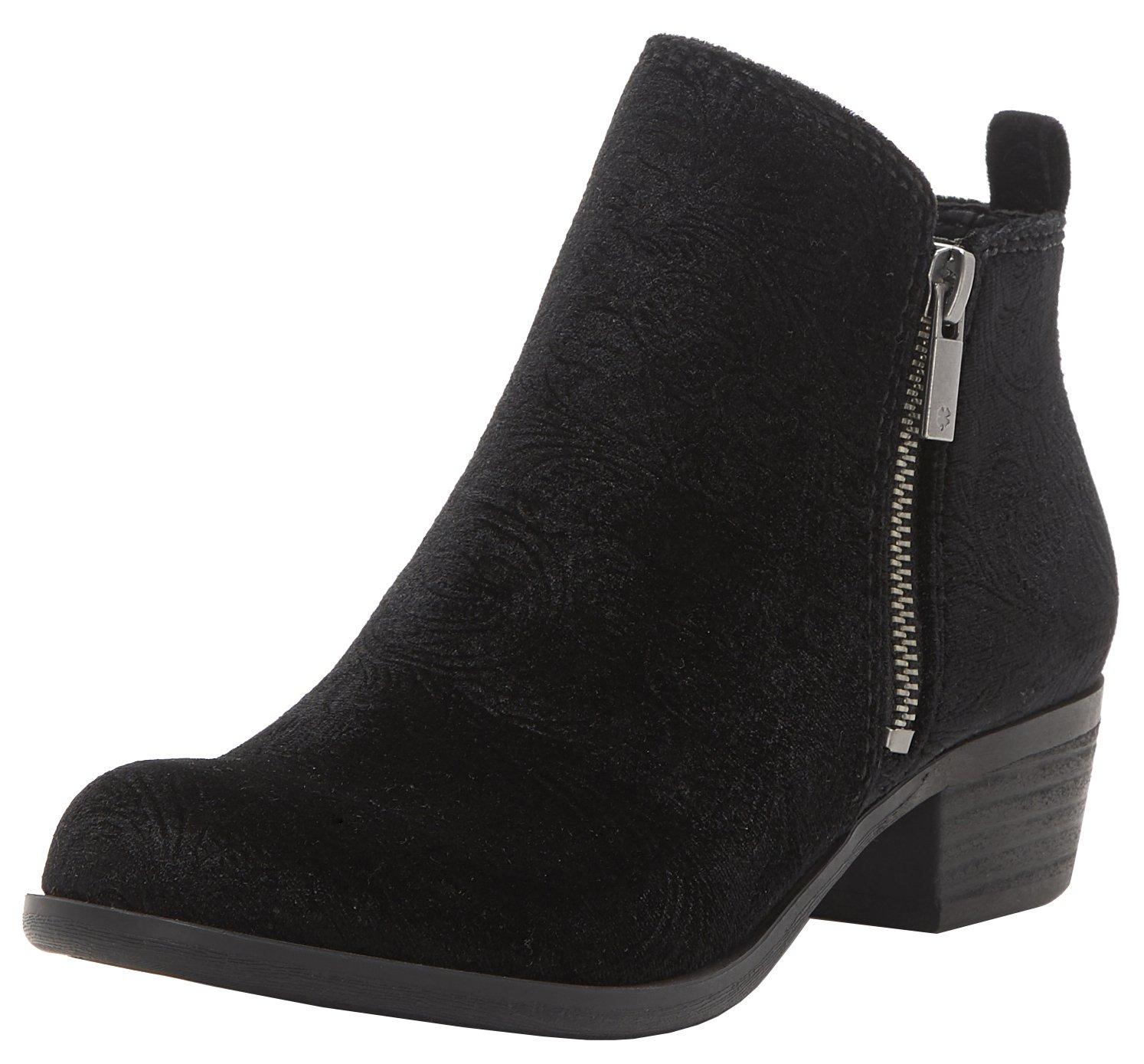 Lucky Brand Women's Basel Boot B074QT5D1P 11 B(M) US|Black Velvet