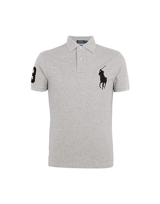 7efdf411cebd Polo Ralph Lauren Men s Polo Shirt Big Pony  Amazon.co.uk  Clothing