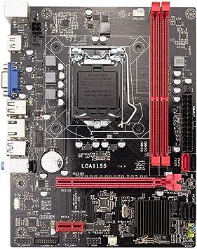 SODIAL B75 Placa Madre De Computador De Escritorio Lga1155 para I3 I5 I7 CPU Soporte Ddr3 Memoria Soporta I53450 3470 Usb3.0 Sata3.0 Ultra H61