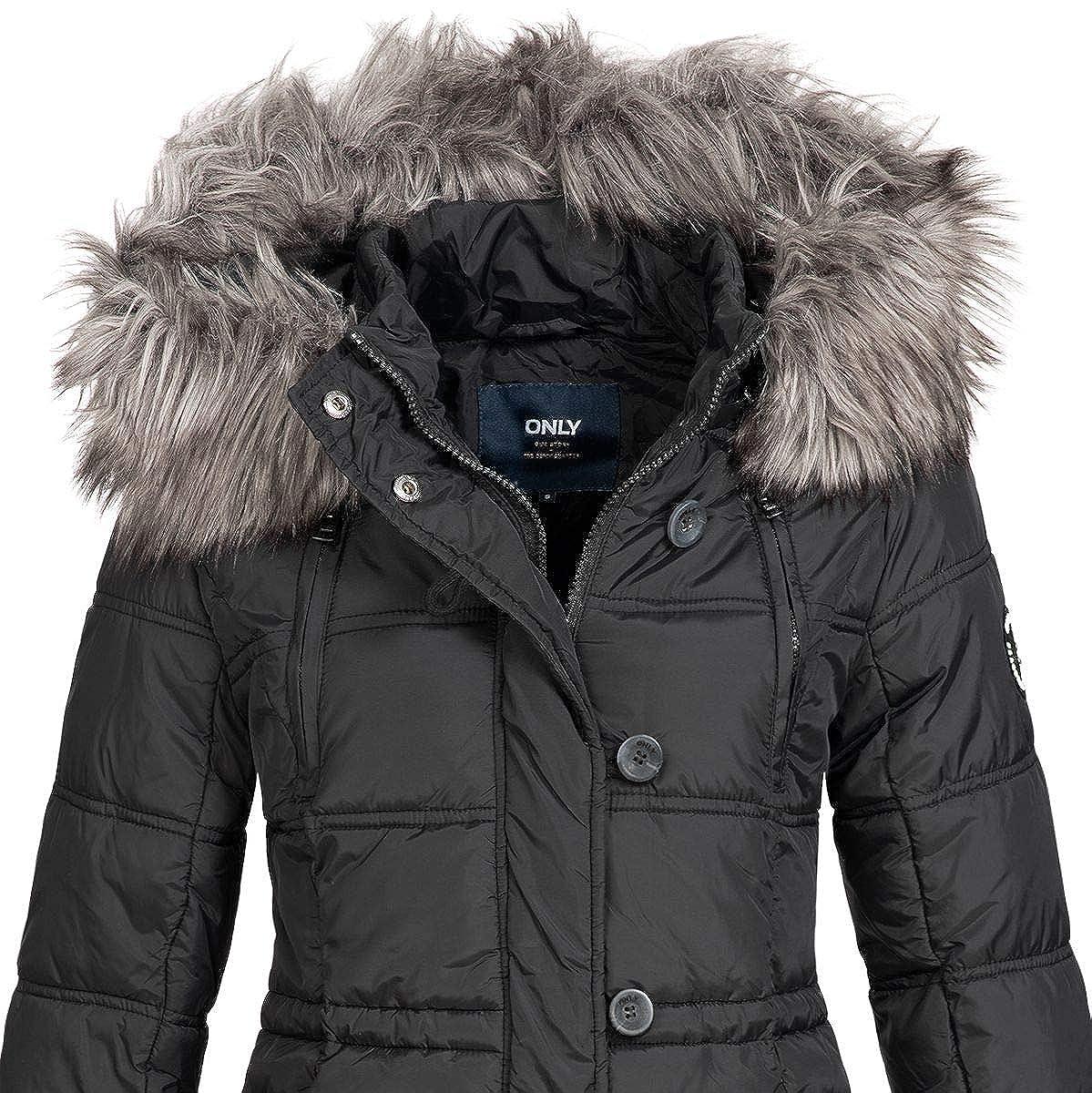 ONLY Damen Winterjacke Stepp Jacke Mantel onlNEWOTTOWA NYLON COAT Parka Fell NEU