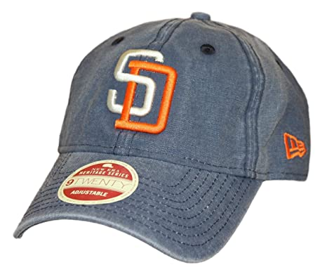 sports shoes 98a0a 2ec8b Image Unavailable. Image not available for. Color  San Diego Padres New Era  9Twenty Cooperstown ...