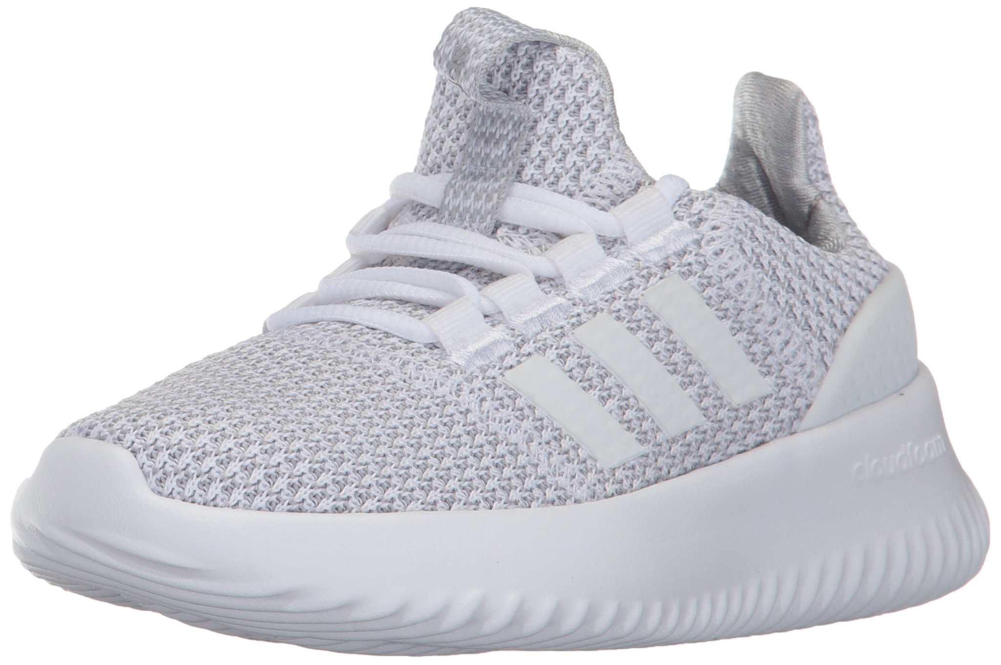 07f66ac98e2 Galleon - Adidas Kids' Cloudfoam Ultimate Sneaker, White/White/Grey Two,  5.5 M US Little Kid