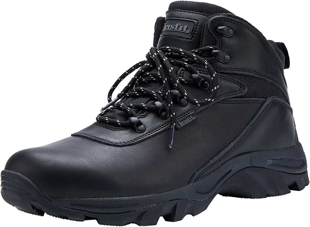 Mid Waterproof Leather Hiking Boots