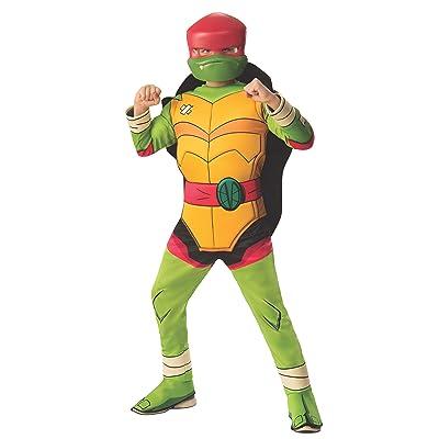 Deluxe Raphael Ninja Turtles Boys Costume: Toys & Games