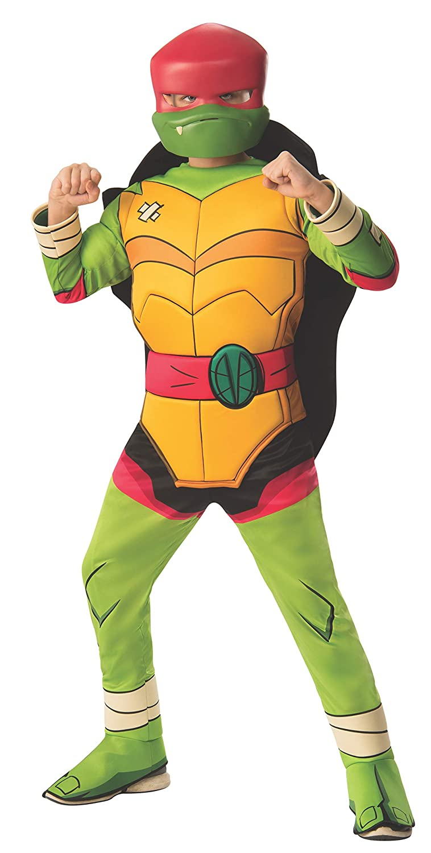 Amazon.com: Deluxe Raphael Ninja Turtles Boys Costume: Toys ...