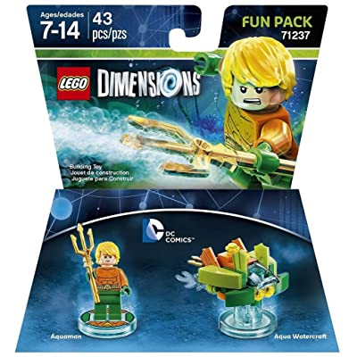 DC Aquaman Fun Pack - LEGO Dimensions: Lego Dimensions Dc Aquaman Fun Pack: Video Games