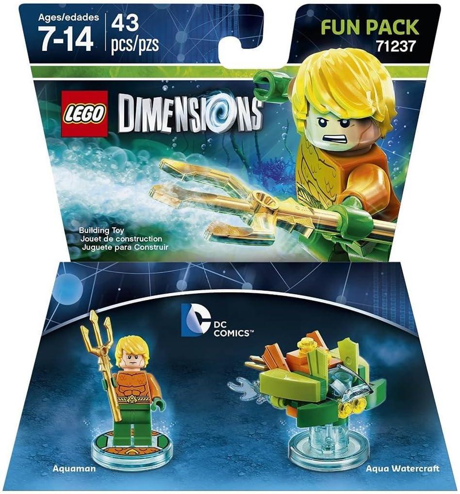 Lego Dimensions Dc Aquaman Fun Pack by Warner Bros Games: Amazon ...