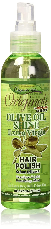 Africas Best Originals Olive Oil Hair Polish Mist 6 Ounce (177ml) Africa's Best AB724506