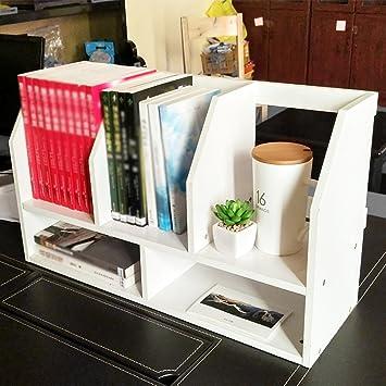 Amazon.de: PENGFEI Tisch Bücherregal Regale Student Schreibtisch ...