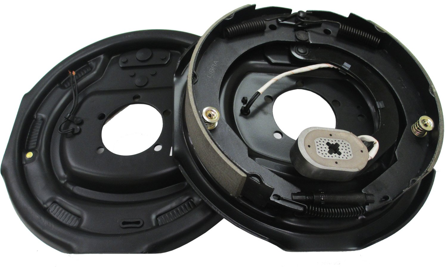 LIBRA One Pair of 12'' X 2'' Trailer Electric Brake Assembly - 21005 by LIBRA