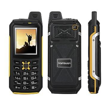 Rugged Phones, HAMSWAN Unlocked GSM IP68 Waterproof Shockproof Dustproof  Rugged Phones With Dual SIM Card