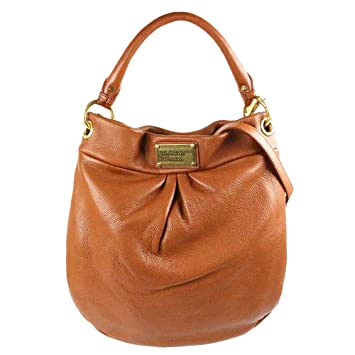 5b0f184adee3 NWT Marc By Marc Jacobs Classic Q Hillier Leather Hobo Bag Cinnamon Stick  Brown