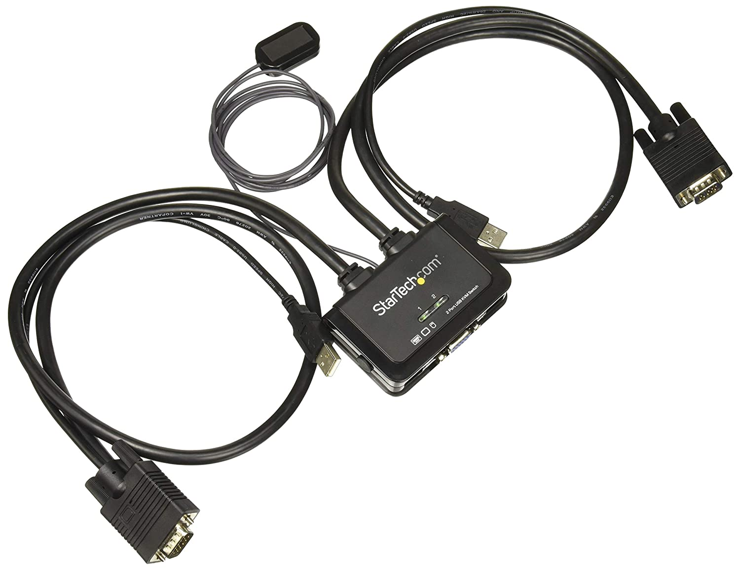 Startech.com 2 Port Usb Hdmi Cable Kvm Switch With Audio And Remote Switch Usb