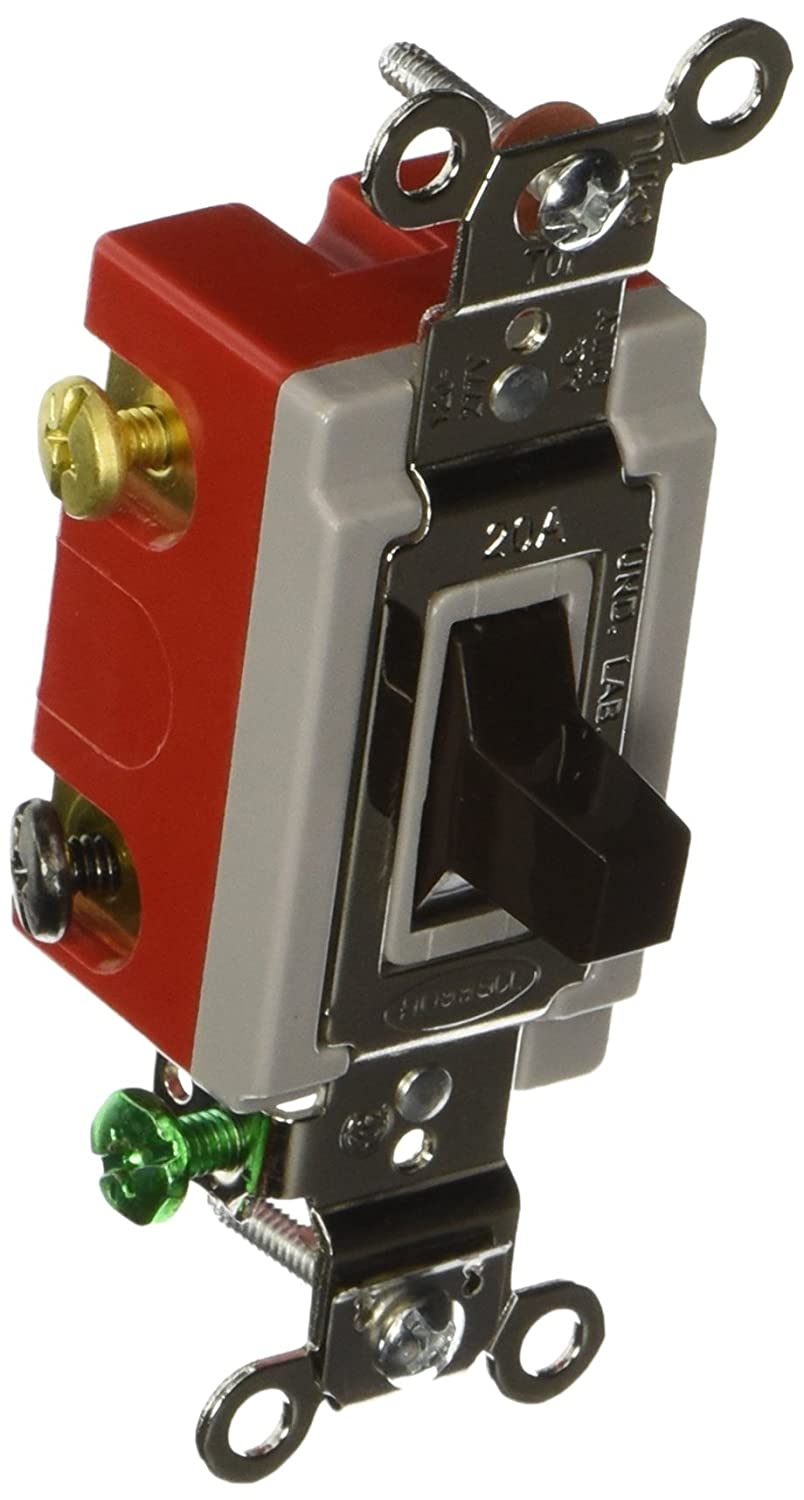 Hubbell HBL1557 Momentary Toggle, Single Pole Double Throw, 20 amp ...