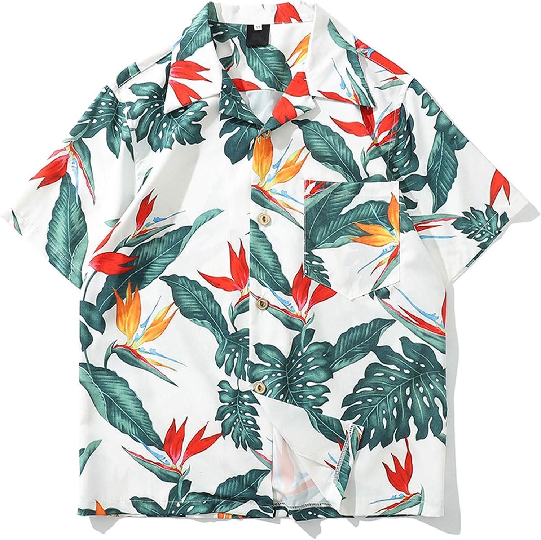 Hawaii Estilo Camisa Retro Hombres Camisas Hip Hop Hombres 2019 Summer Street Camisa de Hombre Top Masculino Hawaiana Hombre: Amazon.es: Ropa y accesorios