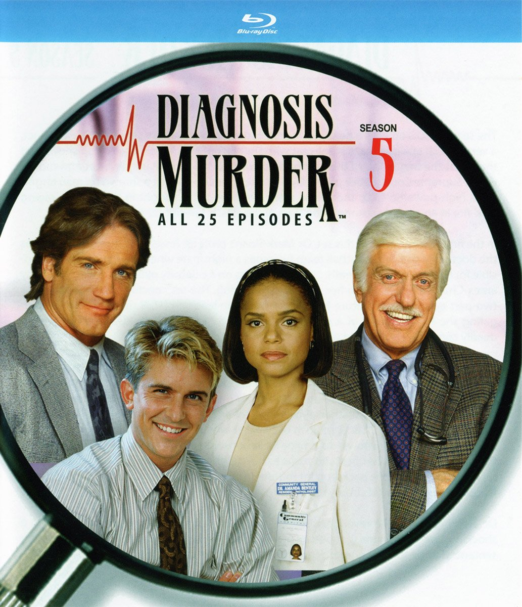 Blu-ray : Diagnosis Murder: The Fifth Season (Boxed Set, 4PC)
