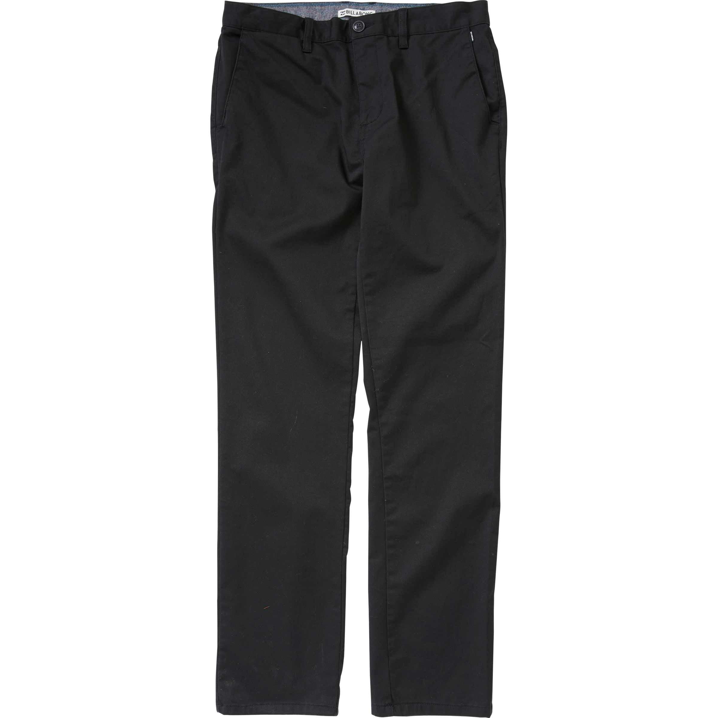 Billabong Boys' Carter Chino Pant Black 27