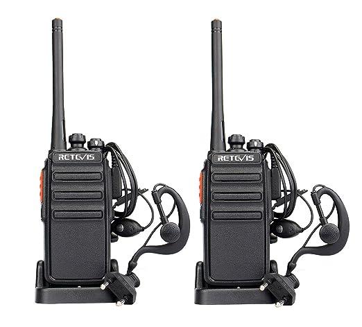 27 opinioni per Retevis RT-24 Walkie Talkie 0.5W PMR446 UHF Licenza-libero VOX Radio