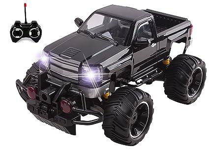 Amazon Com Big Wheel Beast Rc Monster Truck Remote Control Doors