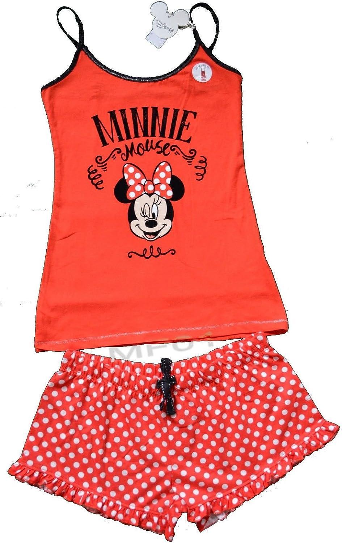 Primark Ladies Cami Vest /& Short Pyjama Pajama Set Disney Mickey Mouse Summer