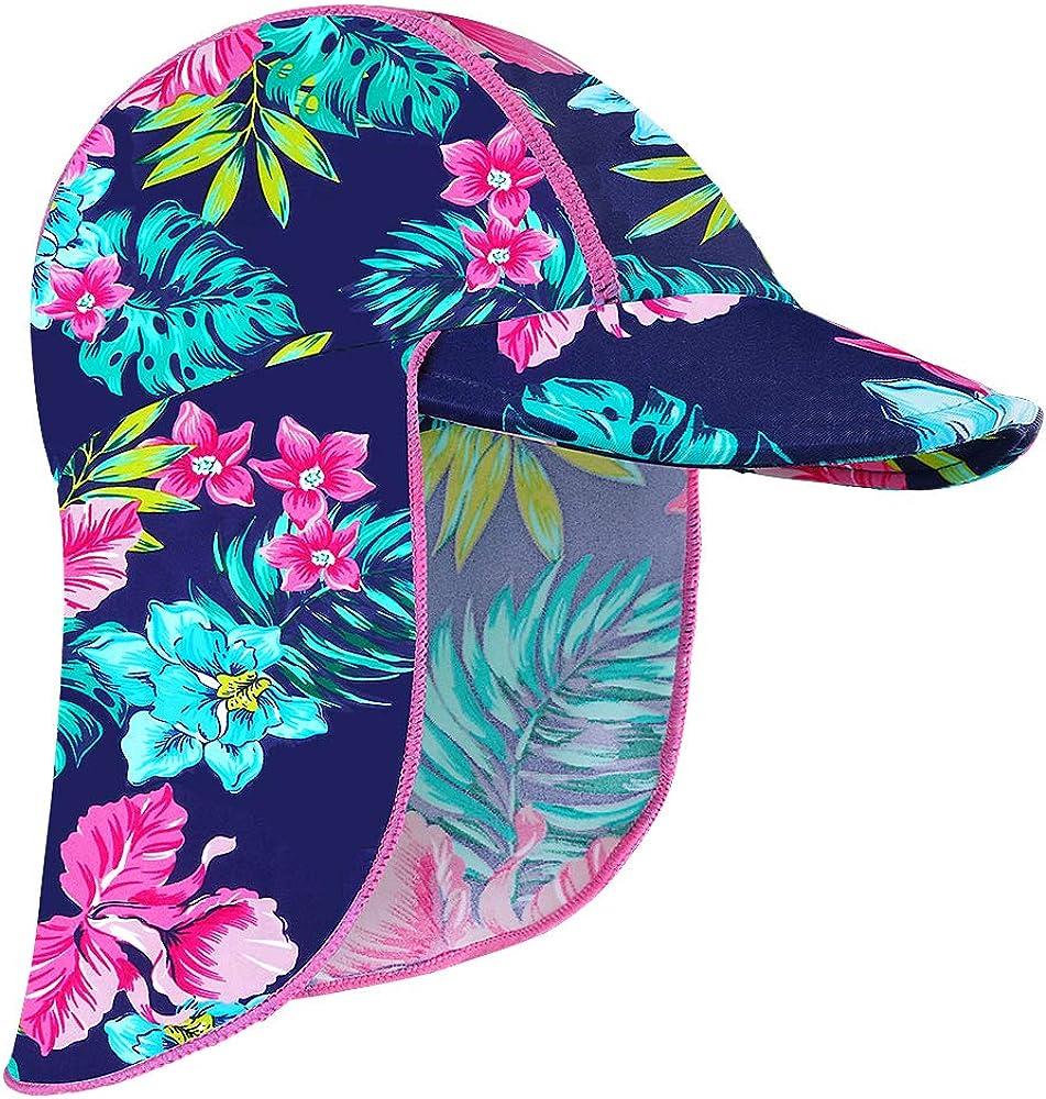 JiaDuo Baby Toddler Sun Protection Beach Hat UPF 50 Kids Boy Girl Brim Bucket